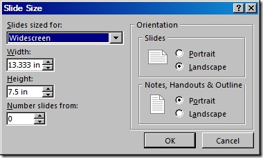 Number Slides From (PowerPoint 2016)