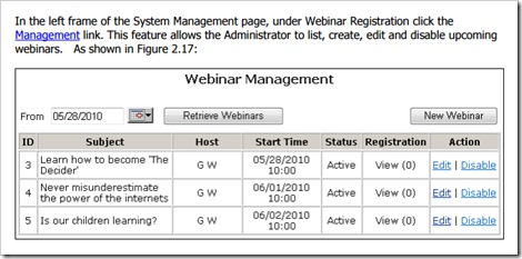 RHUB webinar registration
