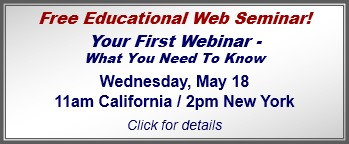 Register for Your First Webinar