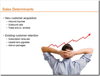 Sales Determinants Slide