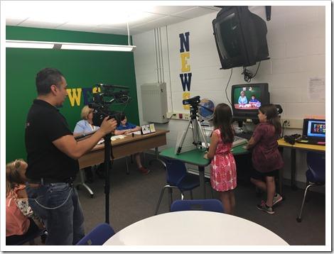 Framington Woods Elementary news video