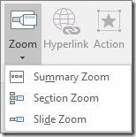 Zoom Menu