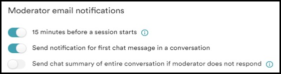 eWebinar moderator notifications