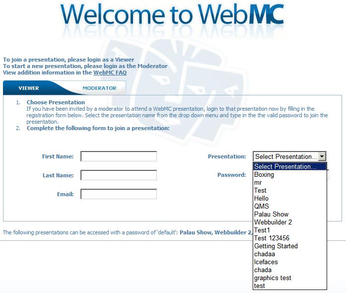 Webmc_select_list